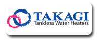 We Service Takagi Tankless Water Heaters in Encinitas
