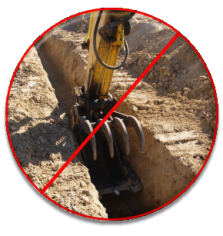 Don't dig a trench - call our Encinitas trenchless sewer repair team today.